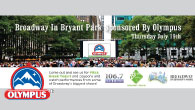 "In conjunction with LiteFM and broadcaster Christine Nagy, we were able to feature Olympus Greek yogurt in Bryant Park's summer event series, ""Broadway in Bryant Park"" in NYC. The star studded..."